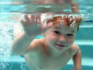 Learn to swim with ISR Fort Wayne Baby Swim Lessons