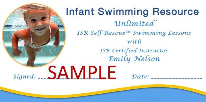 ISR Gift certificate fort wayne sample